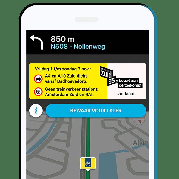 Online Traffic Management Zuidas